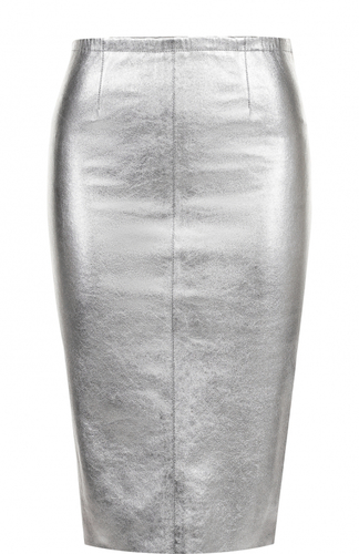 Кожаная юбка-карандаш Zadig&Voltaire