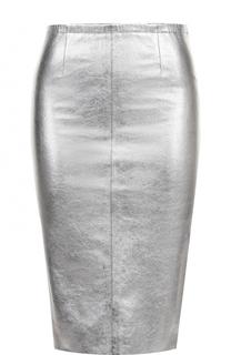 Кожаная юбка-карандаш Zadig&Voltaire Zadig&Voltaire