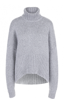 Однотонный шерстяной свитер с высоким воротником Michael Kors