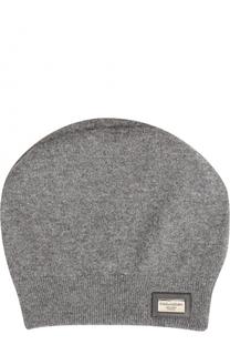 Кашемировая шапка бини Dolce & Gabbana