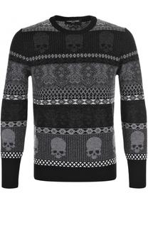 Шерстяной свитер с принтом Gemma. H
