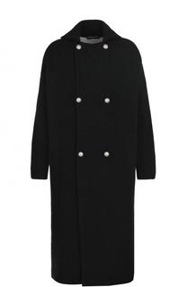 Двубортное шерстяное пальто Gemma. H