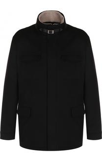 Кашемировая куртка с меховой подкладкой Loro Piana