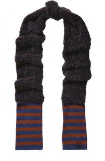 Вязаный шарф с металлизированной отделкой By Malene Birger