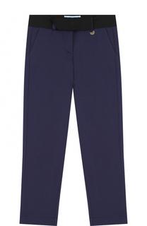 Трикотажные брюки с поясом Lanvin