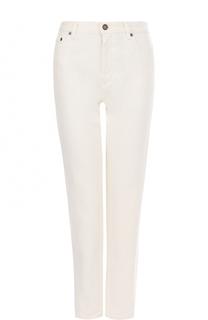 Однотонные джинсы прямого кроя Saint Laurent