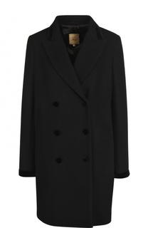 Шерстяное двубортное пальто Fay