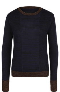 Пуловер прямого кроя с круглым вырезом By Malene Birger