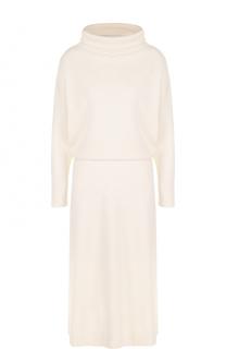 Платье-миди из смеси шерсти и кашемира Cruciani