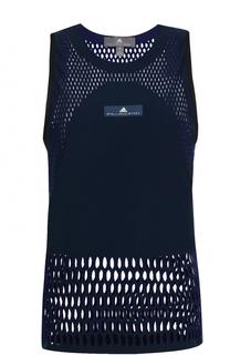 Спортивный топ с перфорацией Adidas by Stella McCartney