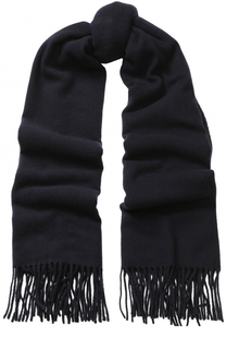 Шерстяной шарф с бахромой Drykorn