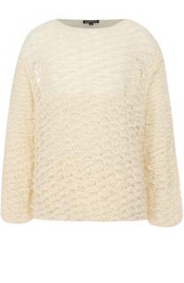 Шерстяной свитер свободного кроя Ann Demeulemeester