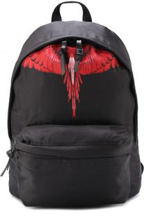 Текстильный рюкзак с принтом Marcelo Burlon