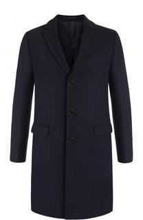 Однобортное пальто с отложным воротником Sand