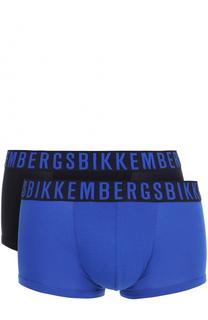 Комплект из двух хлопковых боксеров с широкой резинкой Dirk Bikkembergs