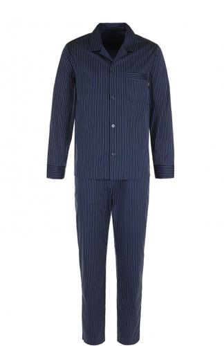 Хлопковая пижама в полоску La Perla