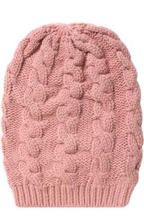Кашемировая шапка фактурной вязки TSUM Collection