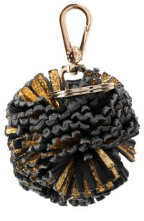 Кожаный брелок для ключей Coccinelle