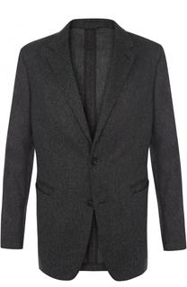 Однобортный шерстяной пиджак Ermenegildo Zegna