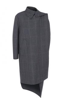 Шерстяное пальто свободного кроя Balenciaga