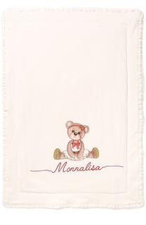 Одеяло с принтом и оборками Monnalisa