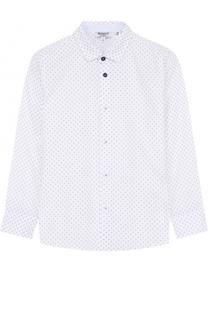 Хлопковая рубашка с принтом Aletta