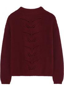 Шерстяной свитер фактурной вязки Il Gufo