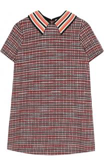 Вязаное мини-платье А-силуэта Missoni