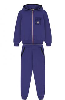 Спортивный костюм из хлопка Moncler Enfant