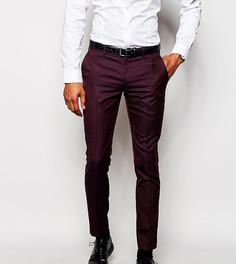 Эксклюзивные зауженные брюки Selected Homme - Красный