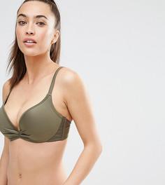 Бикини-топ с эффектом увеличения груди на 2 размера Wolf & Whistle - B-G - Зеленый