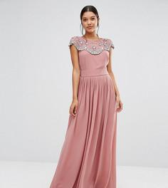 Платье макси TFNC WEDDING - Розовый