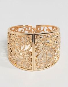Браслет в винтажном стиле с камнями Nylon - Золотой