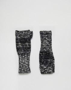 Темно-синие перчатки без пальцев Genie by Eugenia Kim Stef - Темно-синий