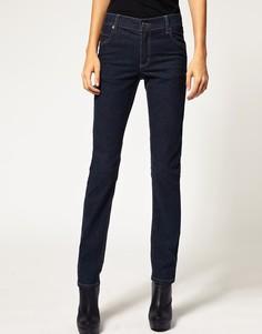 Темные зауженные джинсы Cheap Monday - Синий