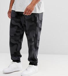 Джоггеры из флиса с камуфляжным принтом Nike Jordan PLUS - Черный