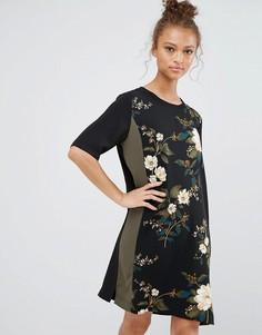 Платье с принтом B.Young - Мульти