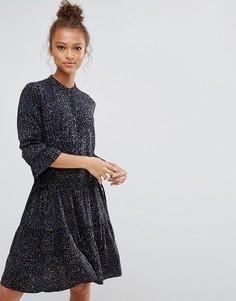 Платье с леопардовым принтом B.Young - Мульти