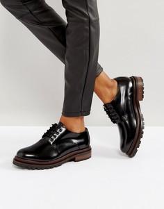 Туфли на шнуровке H By Hudson Hollin - Черный