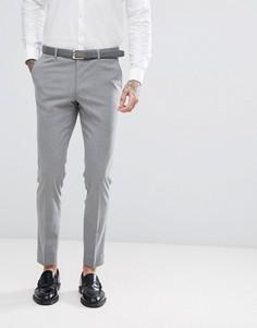 Эластичные брюки скинни Harry Brown - Серый
