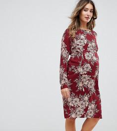 Платье с цветочным принтом Mamalicious - Мульти Mama.Licious