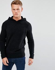 Джемпер с капюшоном D-Struct - Черный