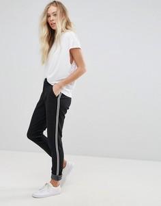 Широкие брюки со складками b.Young - Черный