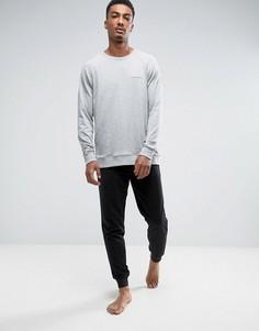 Черные зауженные джоггеры с манжетами Calvin Klein - Черный