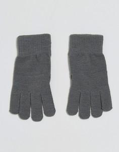 Серые перчатки ASOS Touch Screen - Серый
