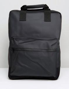 Черный рюкзак Rains Scout - Черный