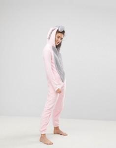 Комбинезон со слоном Loungeable - Розовый