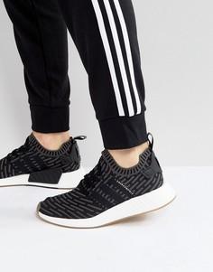 Кроссовки adidas Originals NMD R2 Primeknit BY9696 - Черный