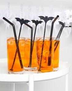 Размешиватели для напитков с летучими мышами Meri Meri Halloween - Мульти