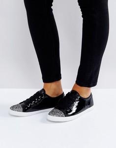 Лакированные кроссовки Carvela - Черный